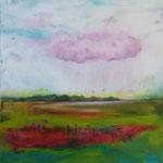 auf rosa Wolke 40x40cm