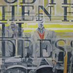 """Dressman"" - Acryl auf Leinwand, 80 x 100 cm"