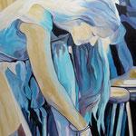"""Emmy"" - Öl auf Leinwand, 110 x 80 cm"