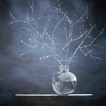 """""""Glimmer"""" - Acryl auf Leinwand, 90 x 90 cm"""