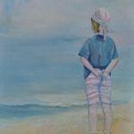 """""""Kind""""  -  Acryl auf Leinwand, 100 x 80 cm"""