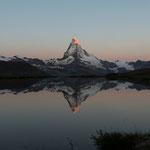 Matterhorn bei Sonnenaufgang