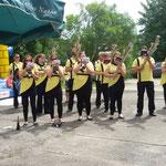 Greiz, Sommerfest ::: Heute haben wir besonders für's Publikum geschwitzt ...