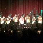 Zeulenroda, Stadthalle, Benefiz ::: für unseren Robert haben wir mal fix das Schlagzeug von Ten Sing organisiert - danke nochmal!