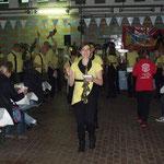 Greiz (Bockbierfest) ::: 10.10.2015 ::: Ausmarsch mit Blumen-Geschenk