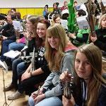Nachwuchsprobelager in Kretzschau ::: 16. - 18.10.2015 ::: Sopran mit Verstärkung von Charlene und Vanessa