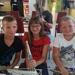 Nachwuchsgesamtprobe ::: 29. bis 30.08.2015 (mit Übernachtung im Proberaum) ::: Collin, Gianna, Aimee