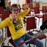 Nachwuchsgesamtprobe ::: 20.02.2016 ::: Max stilecht in schwarz-gelb