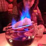 Jahresausklang SMZ Auma  :::  18.12.2015  :::  herrlich blaue Flamme