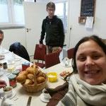 Bariton-Probe 05.11.2016 ::: Frühstücks-Selfie