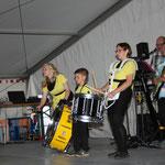 Gössitz, 10. Festival der Liebe ::: mit kleiner Schlagzeug-Unterstützung von den Klostermännern