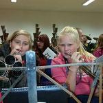 Nachwuchsprobelager in Kretzschau ::: 16. - 18.10.2015 ::: Probestunde im Alt mit Lena und Lisa