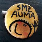 "SMZ AUMA ::: Anstecker, Motiv ""Mann"""