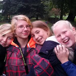 Nachwuchsprobelager in Kretzschau ::: 16. - 18.10.2015 ::: Lena, Jenny, Hanna, Lisa