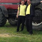 Raasdorf, Sommerfest ::: und hier nochmal die Bass-Jungs Pu und Lutz