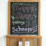 Registerprobe Alt, 08.10.2016 ::: glatt mal 'ne Happy Hour eingeführt