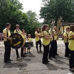 Greiz, Sommerfest ::: in der Mitte mit geballter Akkord-Power