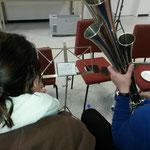 Bariton-Probe 05.11.2016 ::: über die Schulter geschaut