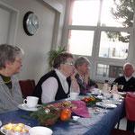 Seniorenweihnachtsfeier  :::  19.12.2015  :::  gemeinsames Kaffeetrinken