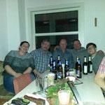 Jahresausklang SMZ Auma  :::  18.12.2015  :::  Ina, Fasching, Olaf, Michel und Chrissi