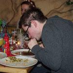 Weihnachtsfeier SMZ AUMA 12.12.2015  :::  unser Soßen-Schlürf-Gourmet