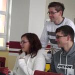 Nachwuchsgesamtprobe 14.11.2015 ::: Natalie, Patrick und Peter