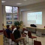 Bariton-Probe 05.11.2016 ::: moderne Technik hilft beim Lernen