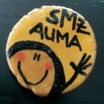 """SMZ AUMA ::: Anstecker, Motiv """"Frau"""""""