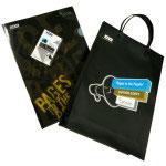 Jimdo紙袋とクリアファイル