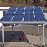 "2,25 kWp ""SolarCarport"" Neuenhasslau"