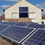 2,2 kWp PV-Anlage + Solarthermie an der Fassade Freigericht-Neuses