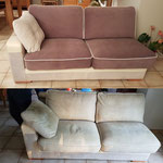 Refection  de coussiens de canapé par votre tapissier décorateur à Pessac