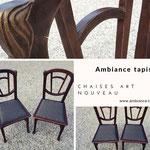 Chaises Art Nouveau