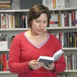 Isabelle Collombat am 3. März 2011 an der BHAK I Salzburg