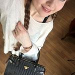 Danke Alex... und auf dein Bitten hin, erwähne ich gerne, dass du für die wunderschöne MOLLERUS Handtasche 730,- Fr bezahlt hast - nur um mich Lächeln zu sehen. ;-D