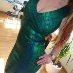 Einen tolles Kleid was S. mir hier geschenkt hat, oder?