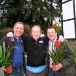 Herzlicher Empfang bei Joey zu Hause mit Michael Hofmann und Frank Füglein