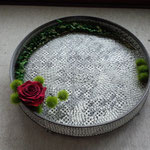 flower arrangement x 益子陶芸作家 in classic concert