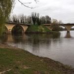 la  Dordogne à Limeuil