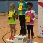 400-m-Lauf Mädchen AK 9