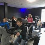 Besuch im Fitnessstudio Easy Fitness