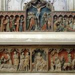 Autel rétable de l'égise de St Tibeault