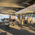 Sunset boottocht op de Zambezi