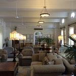 Victoria Falls hotel - salon