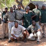 De volledige kamp-staff (foto: Ronny Wuyts)