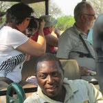 Leonard, de beste spoorzoeker van Botswana!