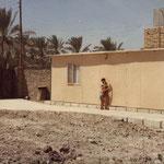 1980 - Notre bungalow dans le camps