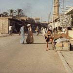 1980 - Dans la seule rue du village
