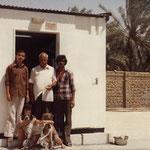 1980 - Les enfants avec le cuisto et ses aides