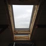 Fenster beiarbeiten, dämmen..